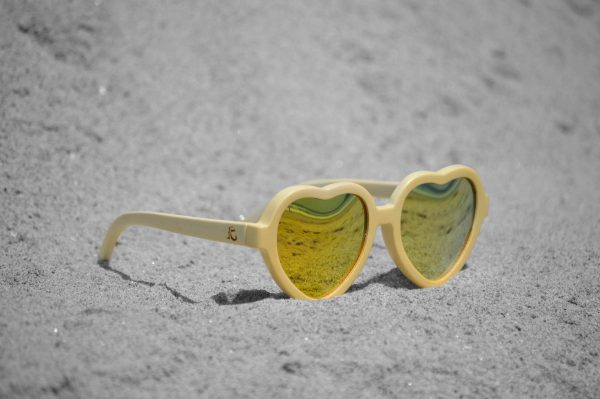 Bamboo Sunglasses Heartbreakers Ice Pure Gold